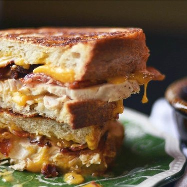 Chicken Bacon Ranch Grilled Cheese Recipe   SideChef