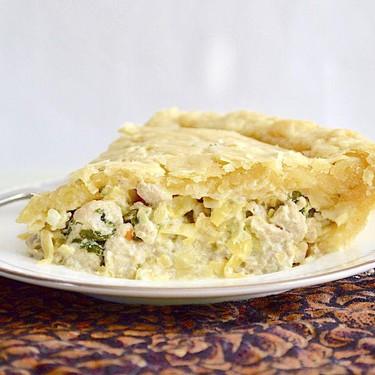 Spinach Artichoke Chicken Pie Recipe | SideChef