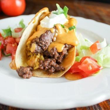 Cheesy Baked Tacos Recipe   SideChef