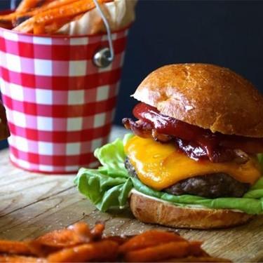 Umami BLT Cheeseburger Recipe   SideChef
