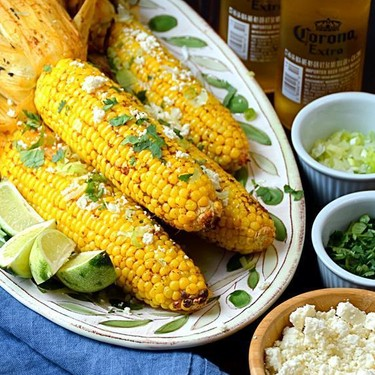 Grilled Chipotle Lime Corn Recipe | SideChef