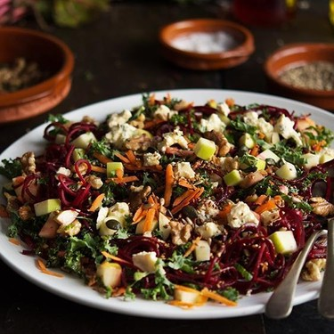 Beet, Apple and Blue Cheese Salad Recipe | SideChef