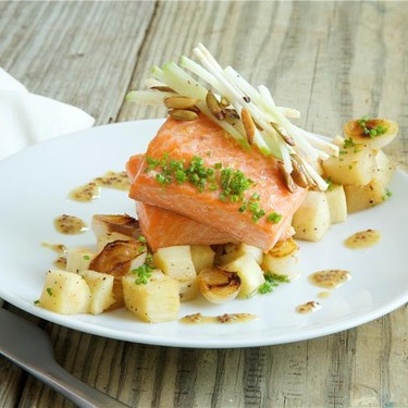 Ocean Trout with Cioppolini Onions Recipe | SideChef