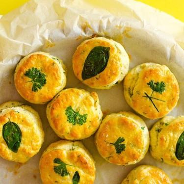 Herby Greek Yogurt Biscuits Recipe   SideChef