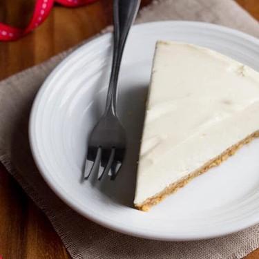 Best Ever No Bake Vanilla Cheesecake Recipe | SideChef