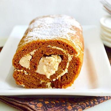 Pumpkin Spiced Swiss Roll Recipe | SideChef