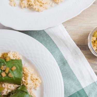 Pork and Apple Stuffed Collard Greens Recipe | SideChef