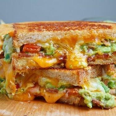 Bacon Guacamole Grilled Cheese Sandwich Recipe   SideChef