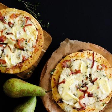 Gorgonzola Pear Pizza Recipe | SideChef