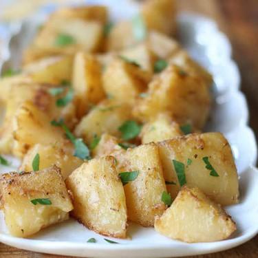 Greek Lemon Potatoes Recipe | SideChef