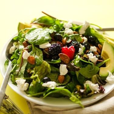 Berry Salad with Lavender Lemon Vinaigrette Recipe   SideChef