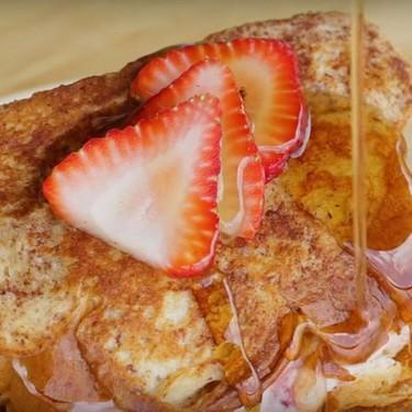 Strawberry Cheesecake Stuffed French Toast Recipe   SideChef