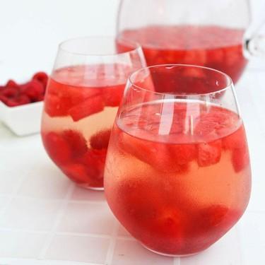 Watermelon Raspberry Sangria Recipe | SideChef