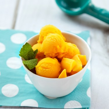 Mango Sorbet Recipe   SideChef