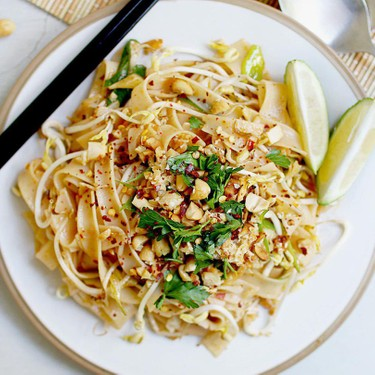 Quick and Easy Pad Thai Noodles Recipe | SideChef