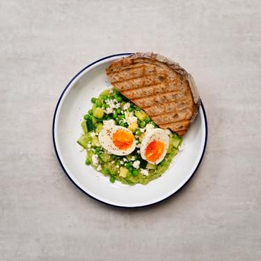 Pea and Ricotta Salad Recipe | SideChef