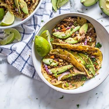 Vegan Cauliflower Walnut Street Tacos Recipe | SideChef