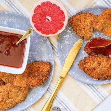 Vegan Fried Chicken with Grapefruit Peels Recipe | SideChef