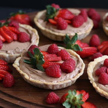French Silk Mousse Tartlets Recipe | SideChef