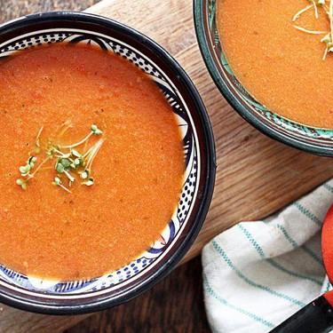 Simple Tomato Basil Soup Recipe   SideChef