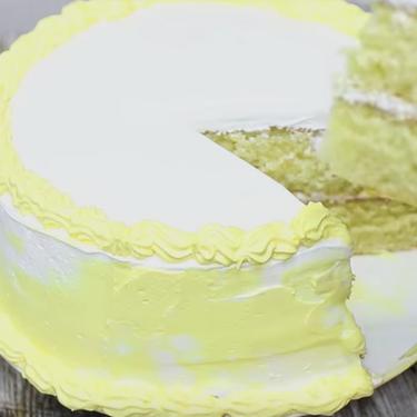 Moist and Soft Vanilla Cake & Swiss Meringue Buttercream Recipe   SideChef
