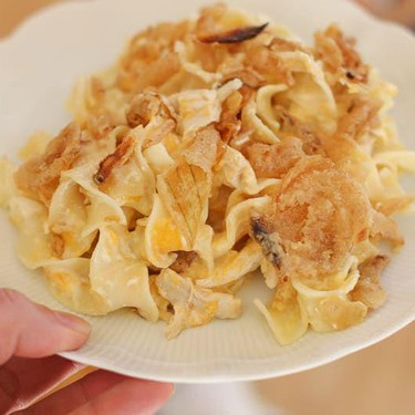 French Onion Chicken Noodle Casserole Recipe | SideChef