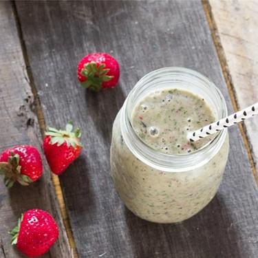 Berry Banana Greenish Smoothie Recipe | SideChef