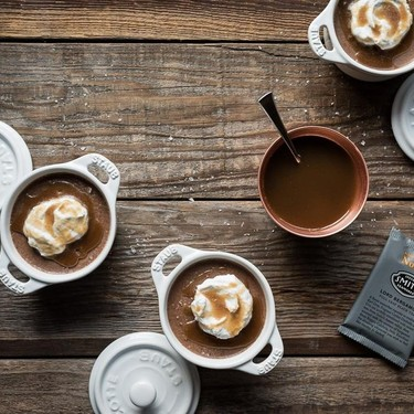 Vegan Earl Grey Chocolate Pots De Creme Recipe | SideChef