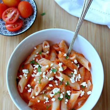 Roasted Pepper Garlic Pasta Sauce Recipe   SideChef