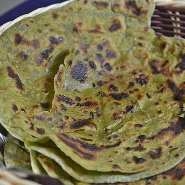 Spinach Paratha Recipe | SideChef