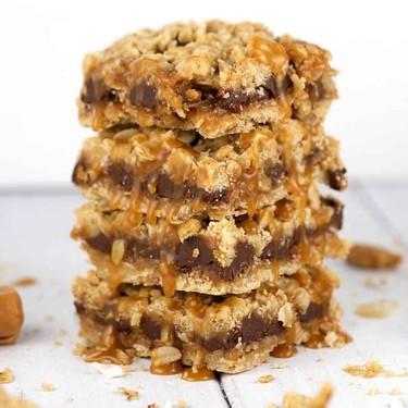 Coconut Caramel Chocolate Bars Recipe | SideChef