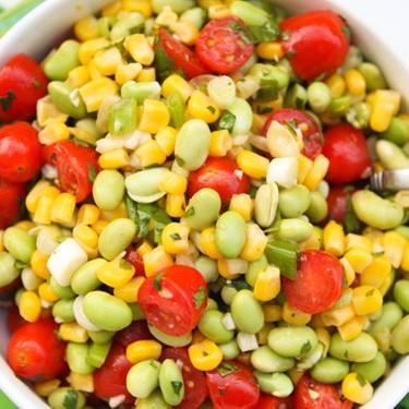 Edamame Summer Salad Recipe | SideChef