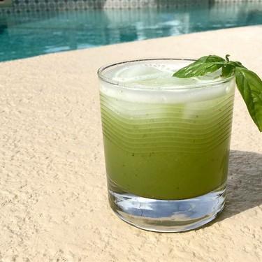 Melon Jalapeño Basil Margaritas Recipe   SideChef