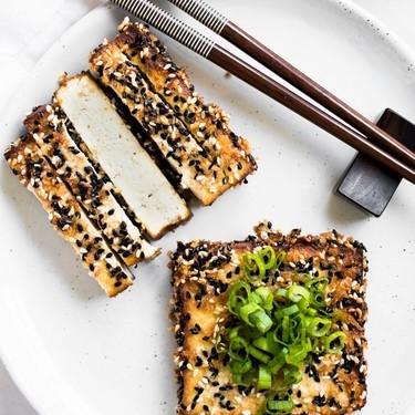 Sesame Crusted Tofu Recipe   SideChef