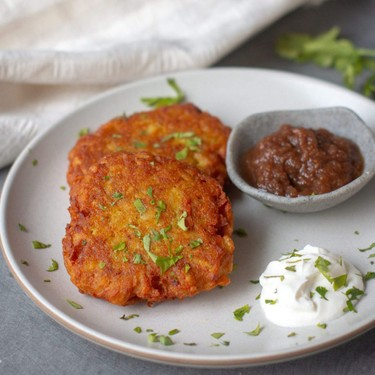 Indian Inspired Latkes Recipe | SideChef