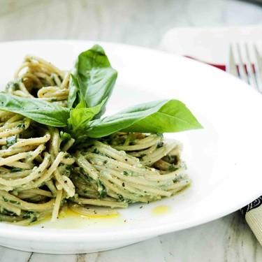 Whole Wheat Spaghetti with Vegan Basil Pesto Recipe   SideChef