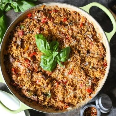 Pizza Steak Quinoa Bake Recipe   SideChef