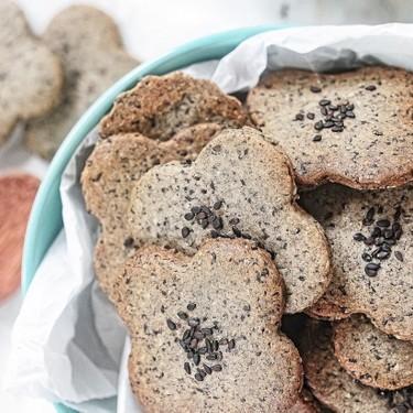 Black Sesame Cookies Recipe | SideChef