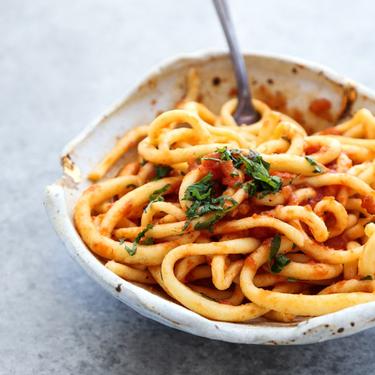 Homemade Gluten-Free Pici Pasta (Tuscan Spaghetti Noodles) Recipe | SideChef