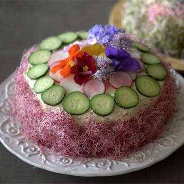 3-Layer Egg Salad Cake Recipe | SideChef