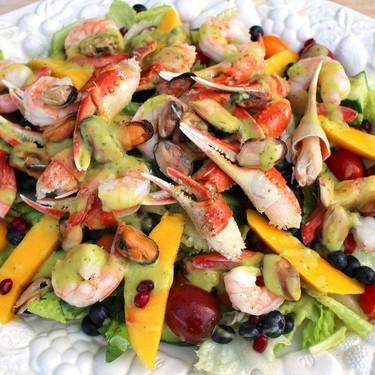 Seafood Salad Recipe   SideChef