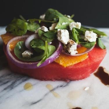 Watermelon Wedge Salad Recipe | SideChef