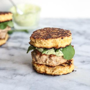 "Paleo ""Ramen Burgers"" with Parsnip Noodle Buns Recipe | SideChef"