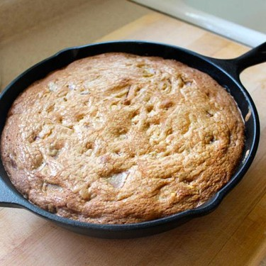 Giant Chocolate Chunk Skillet Cookie Recipe | SideChef