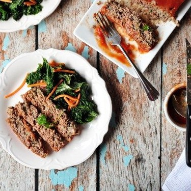 Classic Meatloaf with Sautéed Kale Recipe | SideChef
