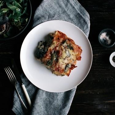 Tomato, Ricotta, Kale & Basil Lasagne Recipe | SideChef