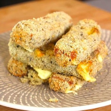 Air Fried Mozzarella Sticks Recipe   SideChef