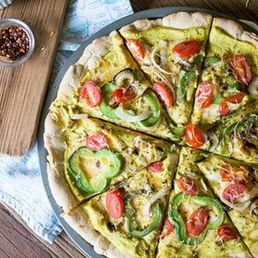 Cauliflower Alfredo Veggie Pizza Recipe | SideChef