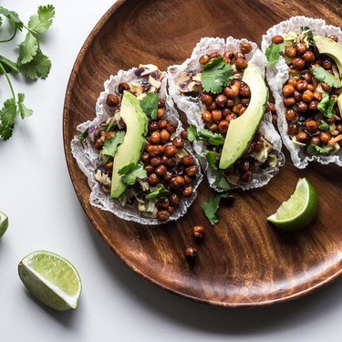 Asian Chickpea Rice Paper Tacos Recipe   SideChef