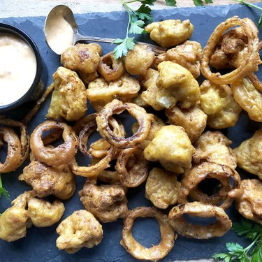 Gluten-Free Crispy Vegetable Pakoras Recipe | SideChef